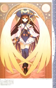 Rating: Safe Score: 22 Tags: angel atelier atelier_iris atelier_iris:_eternal_mana futaba_jun gust_(company) lita_blanchimont thighhighs wings User: Radioactive
