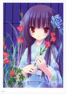 Rating: Safe Score: 20 Tags: harukaze_setsuna kimono tinkle User: fireattack