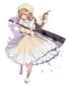Rating: Safe Score: 5 Tags: blood dress monini weapon User: Mr_GT