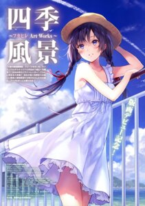 Rating: Questionable Score: 39 Tags: dress fukahire_sanba summer_dress User: drop