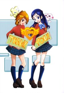 Rating: Safe Score: 6 Tags: futari_wa_pretty_cure kamikita_futago mepple mipple misumi_nagisa pretty_cure seifuku yukishiro_honoka User: drop