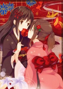 Rating: Safe Score: 28 Tags: kyuri yukata yuri User: Radioactive