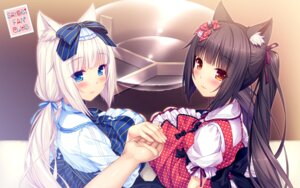 Rating: Safe Score: 50 Tags: animal_ears chocolat dress neko_para neko_works sayori vanilla wallpaper User: Mr_GT