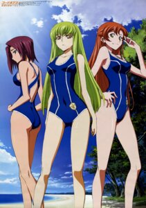 Rating: Safe Score: 57 Tags: c.c. code_geass ishida_kana kallen_stadtfeld shirley_fenette swimsuits User: admin2