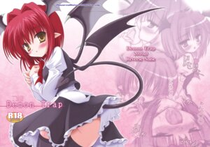 Rating: Explicit Score: 21 Tags: devil koakuma pantsu reverse_noise tail thighhighs touhou wings yamu User: Radioactive