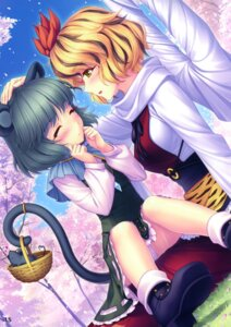 Rating: Questionable Score: 46 Tags: animal_ears nazrin neko_works pantsu sayori tail toramaru_shou touhou User: Aurelia