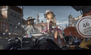 Rating: Safe Score: 28 Tags: maribel_han novelance touhou umbrella usami_renko User: LolitaJoy