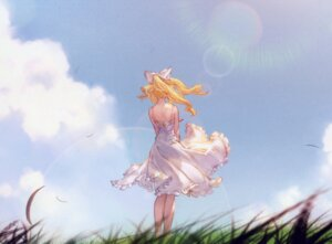Rating: Safe Score: 29 Tags: dress granblue_fantasy see_through skirt_lift summer_dress tagme vila_(granblue_fantasy) User: shineri