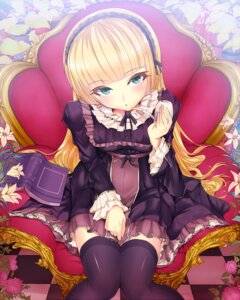 Rating: Safe Score: 76 Tags: dress gosick kasai_shin thighhighs victorica_de_broix User: Nekotsúh