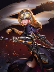 Rating: Safe Score: 54 Tags: armor blood fate/apocrypha fate/grand_order fate/stay_night jeanne_d'arc jeanne_d'arc_(fate) liang_xing sword thighhighs weapon User: mash