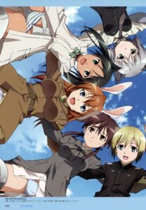 Rating: Questionable Score: 6 Tags: animal_ears bunny_ears charlotte_e_yeager erica_hartmann francesca_lucchini gertrud_barkhorn pantsu sanya_v_litvyak shimapan strike_witches uniform User: Nepcoheart