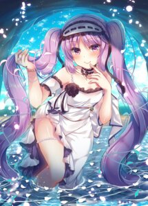 Rating: Safe Score: 42 Tags: dress euryale fate/grand_order suzunone_rena wet User: Mr_GT