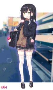 Rating: Safe Score: 22 Tags: seifuku sweater thighhighs urim_(paintur) User: Mr_GT