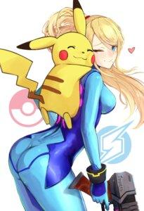 Rating: Safe Score: 36 Tags: ass bodysuit gun ippers metroid pikachu pokemon samus_aran super_smash_bros. User: mash
