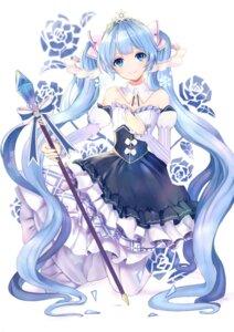 Rating: Safe Score: 13 Tags: hatsune_miku shiina_(shiina0227) skirt_lift vocaloid weapon yuki_miku User: Munchau