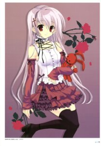 Rating: Safe Score: 48 Tags: gothic_lolita lolita_fashion mitha thighhighs User: SubaruSumeragi
