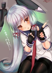 Rating: Safe Score: 41 Tags: kantai_collection murakumo_(kancolle) pantyhose sazamiso_rx seifuku User: Mr_GT