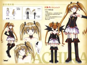 Rating: Questionable Score: 8 Tags: character_design hirata_katsuzou magical_pokaan pachira pointy_ears stockings thighhighs wings User: Onpu