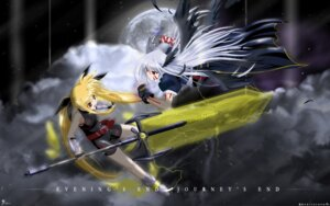 Rating: Safe Score: 9 Tags: fate_testarossa mahou_shoujo_lyrical_nanoha reinforce wallpaper User: Claimh