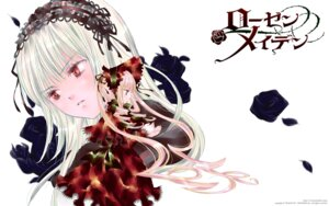 Rating: Safe Score: 10 Tags: gothic_lolita lolita_fashion peach-pit rozen_maiden shinku suigintou wallpaper User: Radioactive
