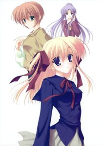 Rating: Safe Score: 8 Tags: canvas_2 housen_elis kikyou_kiri nanao_naru saginomiya_saya User: crim