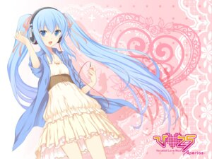 Rating: Safe Score: 52 Tags: 47agdragon dress hatsune_miku headphones vocaloid wallpaper User: fairyren