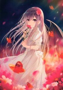 Rating: Safe Score: 46 Tags: dress summer_dress wings yashiro_seika User: kiyoe