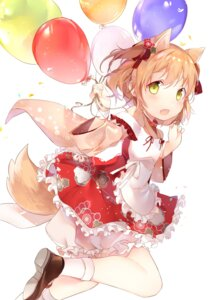 Rating: Safe Score: 40 Tags: amafuyu animal_ears bloomers heels maid tail wa_maid User: Mr_GT