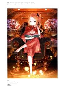 Rating: Safe Score: 29 Tags: cleavage dress ootsuka_shinichirou re_zero_kara_hajimeru_isekai_seikatsu User: NotRadioactiveHonest