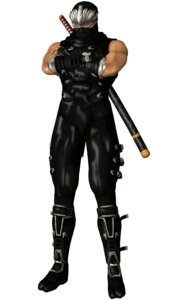Rating: Questionable Score: 4 Tags: bodysuit dead_or_alive male ninja ninja_gaiden ryu_hayabusa sword User: Yokaiou