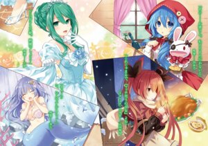 Rating: Safe Score: 97 Tags: cinderella cinderella_(character) cleavage cosplay date_a_live dress heels itsuka_kotori izayoi_miku little_red_riding_hood_(character) mermaid monster_girl natsumi_(date_a_live) pasties tail the_little_match_girl the_little_mermaid the_little_mermaid_(character) topless tsunako yoshino_(date_a_live) User: WhiteExecutor