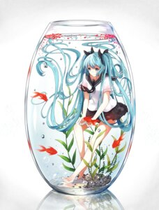 Rating: Safe Score: 44 Tags: bottle_miku feet mr._rabit seifuku vocaloid User: charunetra