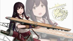 Rating: Safe Score: 25 Tags: akagi_(kancolle) kantai_collection shibafu User: h71337