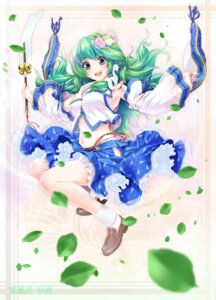 Rating: Safe Score: 41 Tags: bra kochiya_sanae pantsu touhou urufu User: Mr_GT