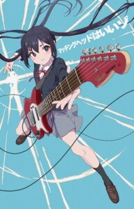 Rating: Safe Score: 15 Tags: guitar hasisisissy k-on! nakano_azusa seifuku skirt_lift User: Dreista