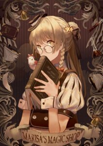 Rating: Safe Score: 23 Tags: kirisame_marisa megane touhou zicai_tang User: Mr_GT