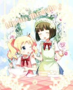 Rating: Safe Score: 17 Tags: alice_cartelet hitotose_rin kin'iro_mosaic oomiya_shinobu User: Radioactive