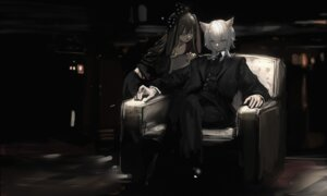 Rating: Questionable Score: 4 Tags: animal_ears business_suit naruwe User: Dreista