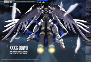 Rating: Safe Score: 16 Tags: endless_waltz gundam gundam_wing mecha shino_masanori wing_gundam_zero User: Radioactive