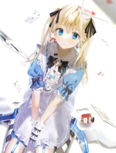 Rating: Safe Score: 27 Tags: alice alice_in_wonderland dress iftuoma stockings thighhighs User: Dreista