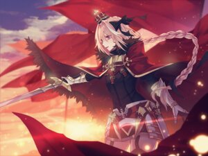 Rating: Safe Score: 9 Tags: armor astolfo_(fate) fate/grand_order kancell stockings sword thighhighs trap User: AnoCold