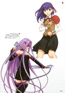 Rating: Safe Score: 16 Tags: fate/hollow_ataraxia fate/stay_night matou_sakura rider seifuku takayama_kisai User: Aurelia