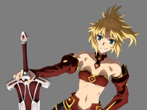 Rating: Safe Score: 18 Tags: bikini_top cleavage fate/apocrypha fate/grand_order fate/stay_night mordred_(fsn) sword tanaka_kazuma transparent_png underboob User: Mekdra