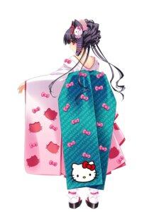Rating: Safe Score: 32 Tags: carnelian hello_kitty kimono miyabi_sakuya User: blooregardo