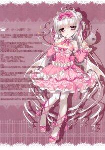 Rating: Safe Score: 26 Tags: cleavage dress gothic_lolita heels lolita_fashion pantyhose tsukikage_nemu wings User: kiyoe