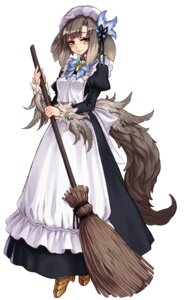 Rating: Safe Score: 26 Tags: animal_ears armor heels kenkou_cross maid monster_girl tail User: NotRadioactiveHonest