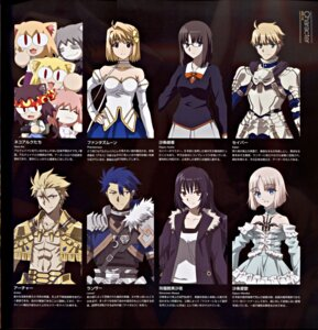 Rating: Safe Score: 21 Tags: binding_discoloration carnival_phantasm fate/prototype fate/stay_night gilgamesh_(fate/prototype) lancer_(fate/prototype) neko_arc neko_arc_bubbles phantas-moon reiroukan_misaya saber_(fate/prototype) sajou_manaka sajyou_ayaka type-moon User: Radioactive