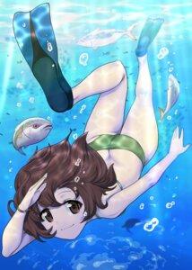 Rating: Questionable Score: 16 Tags: akiyama_yukari ass bikini excel_(shena) girls_und_panzer swimsuits User: yanis