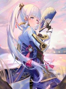 Rating: Safe Score: 33 Tags: armor genshin_impact japanese_clothes kamisato_ayaka_(genshin_impact) zhongwu_chahui User: Arsy
