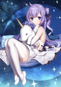 Rating: Questionable Score: 48 Tags: azur_lane dress komeshiro_kasu thighhighs unicorn_(azur_lane) User: Twinsenzw
